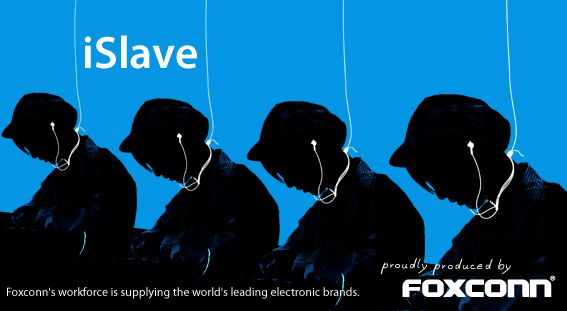 Foxconn @ Public Eye Awards 2011 (iSlave) by Greenpeace Switzerland, via Flickr