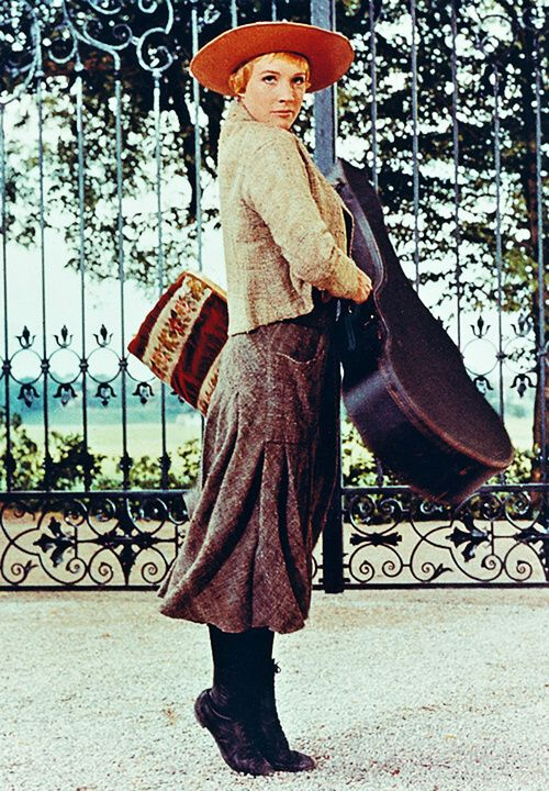 I have Confidence in Me!  Julie Andrews in The Sound of Music, 1965