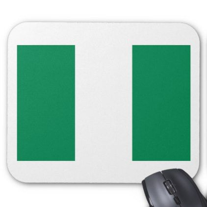 #Low Cost! Nigeria Flag Mouse Pad - #travel #office #gifts