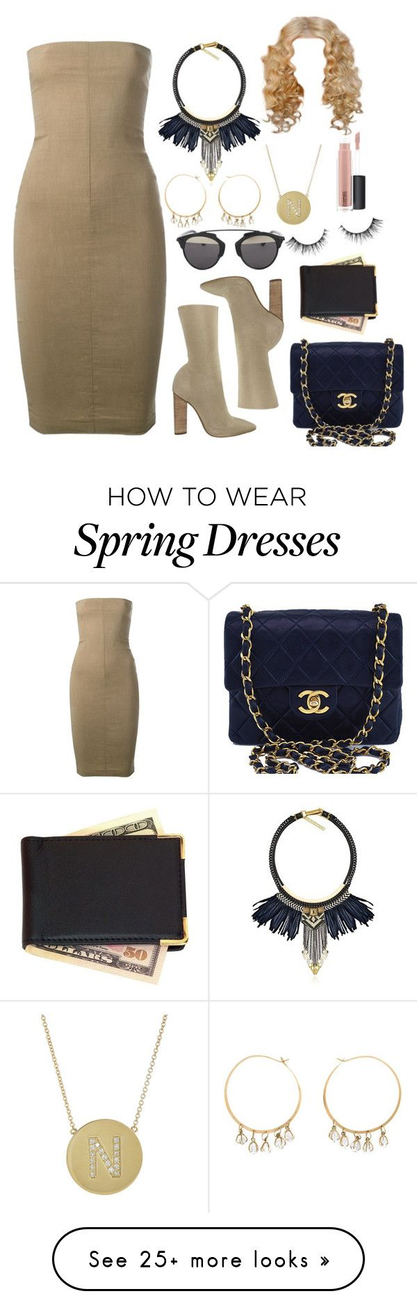 """""""hollywood heir"""" by traplourde on Polyvore featuring Romeo Gigli, adidas, Christian Dior, Fiona Paxton, Melissa Joy Manning, Chanel, Royce Leather, Jennifer Meyer Jewelry and MAC Cosmetics"""