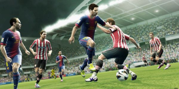 n Pro Evolution Soccer 2013, players are given greater freedom over ball control and the way players receive and trap the ball has been improved. Also in PES 2013, characters are more recognizable and the game is more balanced than ever before. - http://gamingsnack.com/pes-2013-pc-3/ - free download