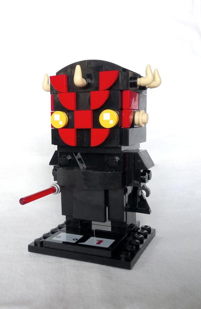Darth Maul Instructions Available Brickheadz Lego Creations