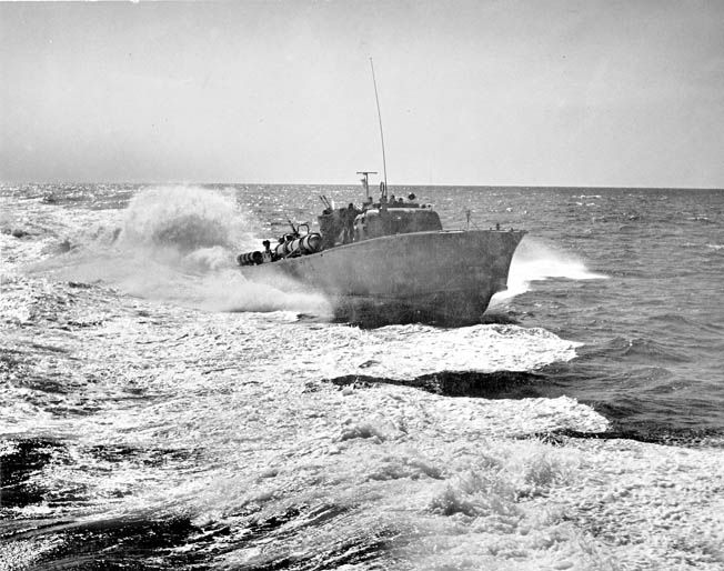 In March 1942, General Douglas MacArthur and his family escaped from the Philippines in a daring PT-Boat operation.
