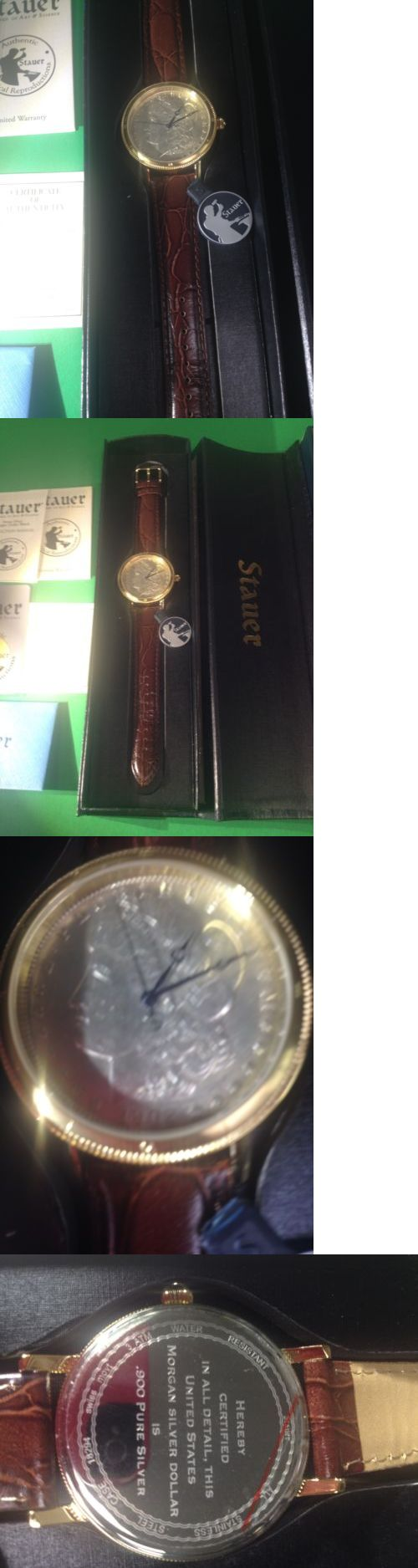 Other Pocket Watches 398: Silver Dollar Watch (New) BUY IT NOW ONLY: $123.5