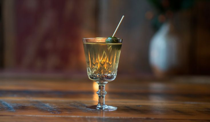 """""""This drink was made as a nod to a town on Vancouver Island called Shirley. The town name had to be shortened to fit on a postage stamp 😱  Read more here from The Alchemist Magazine. http://www.thealchemistmagazine.ca/2017/11/29/dont-call-me-shirley/"""