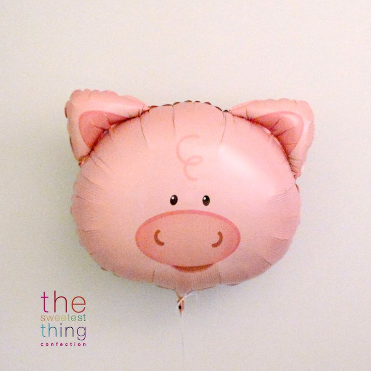 A personal favorite from my Etsy shop https://www.etsy.com/ca/listing/291648297/piglet-balloon