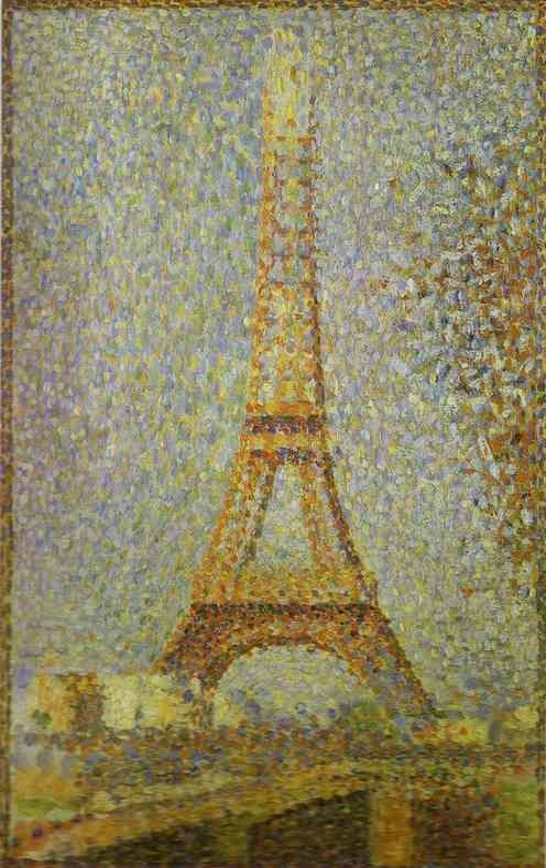 Pointillism was a technique I didn't fully appreciate until I had to do it for an art project in 6th grade. Thank you, TREK. (Oh, and Seurat. I guess he deserves some credit, too.)