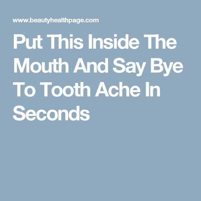 Put This Inside The Mouth And Say Bye To Tooth Ache In Seconds http://reviewscircle.com/health-fitness/dental-health/natural-teeth-whitening