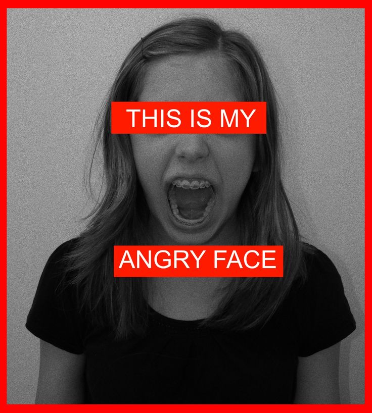 THIS IS MY ANGRY FACE Barbara Kruger Interpretation