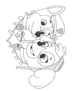 Coloring Pages of paw patrol everest by freecoloringpages.co.uk