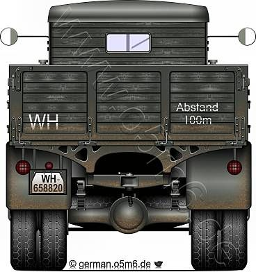 "Engines of the Wehrmacht - ""SPA-38R"", 2.5-ton, 4x2, Heavy Truck"