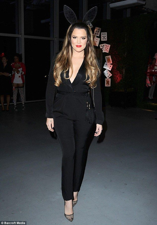 Khloé Kardashian Odom made a glamorous appearance at her half-sister Kylie Jenner's sweet 16th birthday party on August 17