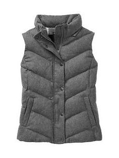 grey puffer vest - Google Search
