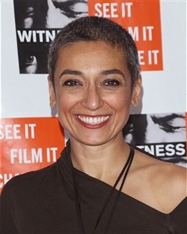 Zainab Salbi attends the 2013 Focus For Change gala benefiting WITNESS at Roseland Ballroom on December 5, 2013 in New York City. Description from gettyimages.com. I searched for this on bing.com/images