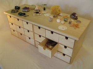 nature table and drawers, wouldn't it be awesome to find one of these!!