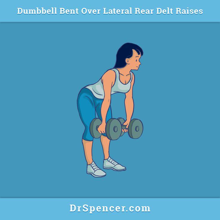 Rear delt lateral raises