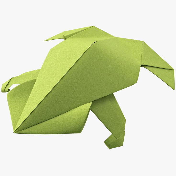 how to make a frog out of origami