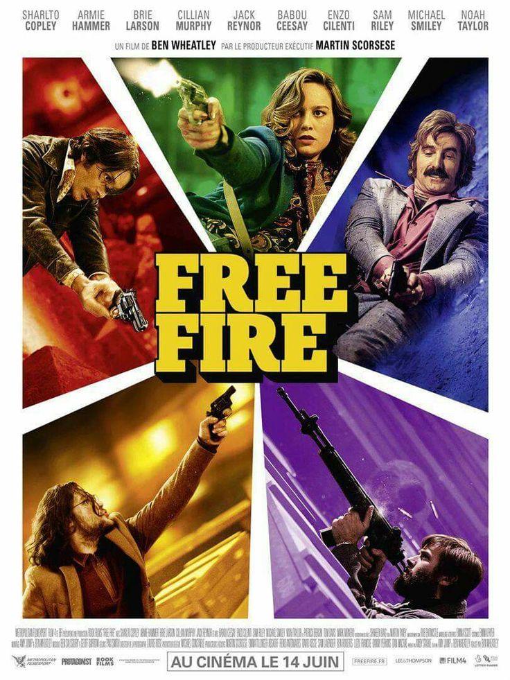 Aujourd'hui dans les salles Free Fire : le gunfight endiablé et dément signé Ben Wheatley http://ow.ly/NBvw30czJCm