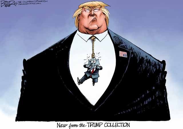 Political Cartoons of the Week: Trump Tie