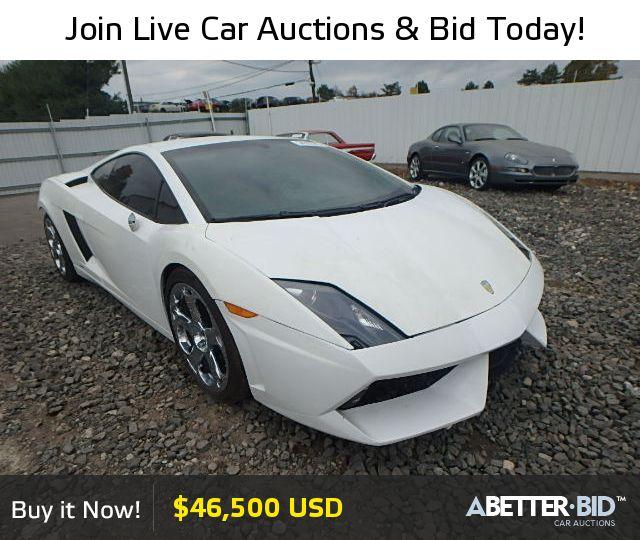 Wrecked Lamborghini For Sale