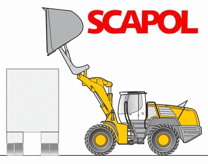 SCAPOL; łyżki do ładowarek wysokiego wsypu