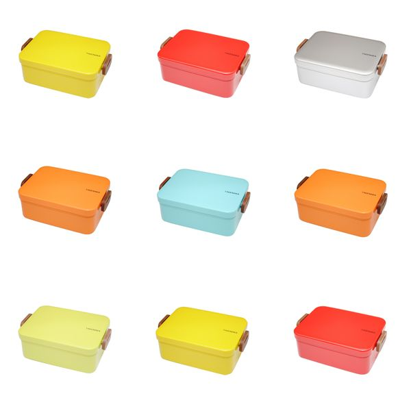 Bento Boxes from Takenaka: Bento Lunches, Candy Colors, Bento Boxes, Pretty Bento, Lunches Boxes, Bright Colors, Takenaka Bento, Harabu Houses, Colors Bento