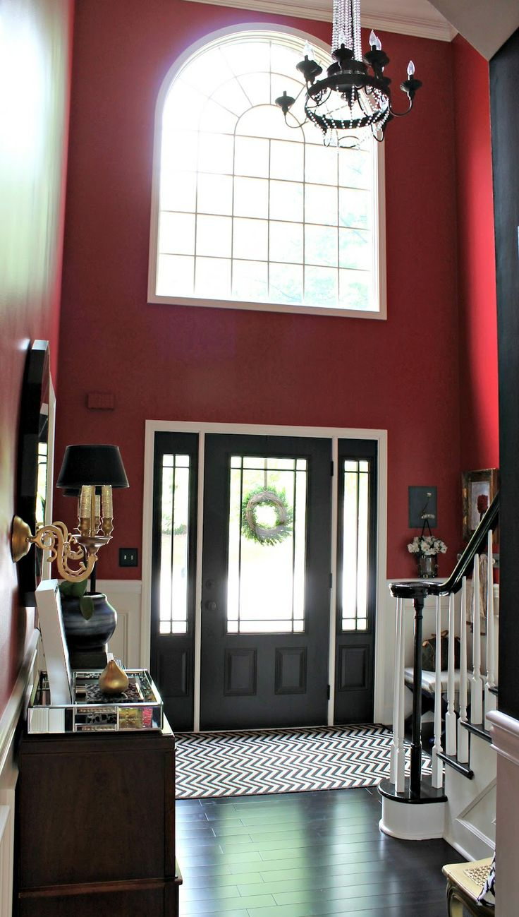 15 best pulse images on pinterest fiberglass entry doors front our fifth house house tour paint inside of front door black eventelaan Gallery
