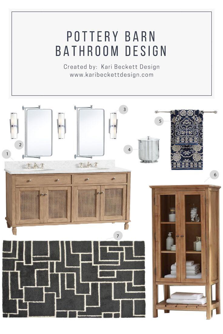 Bathroom Design Pottery Barn Bathroom design, Diy