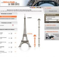 Eiffel Tower ticketing website  billete online skip the line