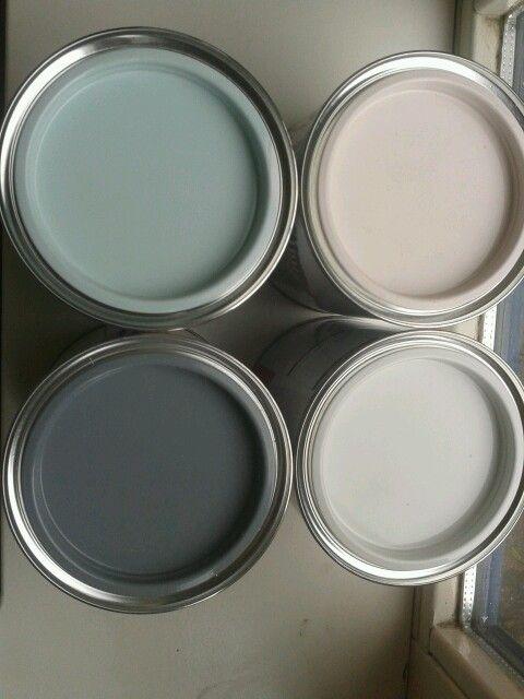 Verf Ideeen Slaapkamer : Kleuren verf gekocht voor op mijn kamer ...