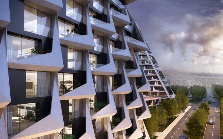 Looping Towers Netherlands, Maarssen, 2020 - PPA - Peter Pichler Architecture