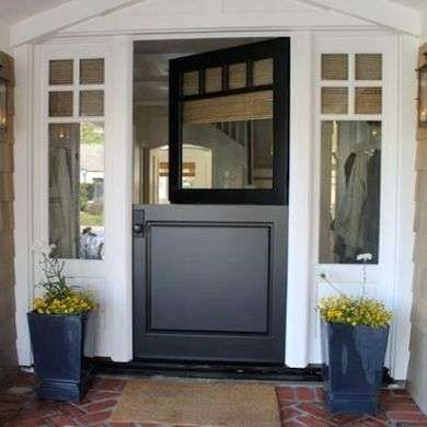 Split door find this pin and more on house split doors for Exterior back door with window that opens