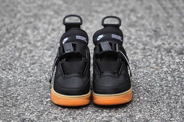 size 40 72c0a 47387 Nike Air Force 1 Low Utility Black Gum Release info Date
