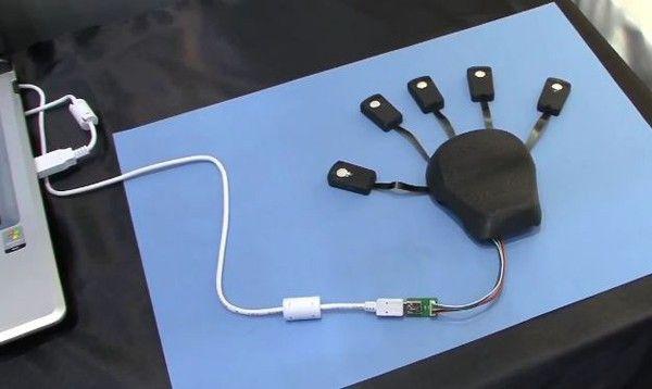 Amenbo - пятипальцевая компьютерная мышь   НОВОСТИ ТЕХНОЛОГИЙ