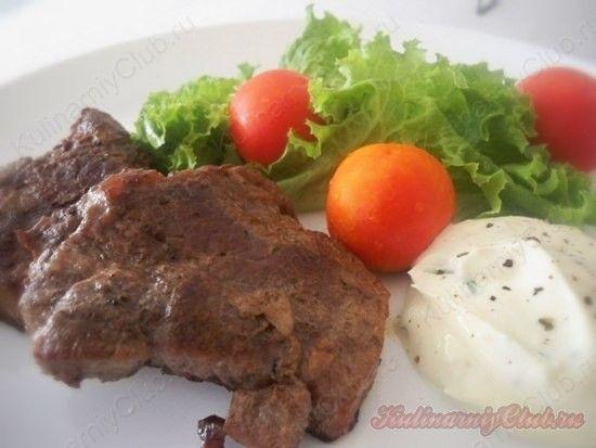 Стейк из говядины в мультиварке on http://kulinarniyclub.ru