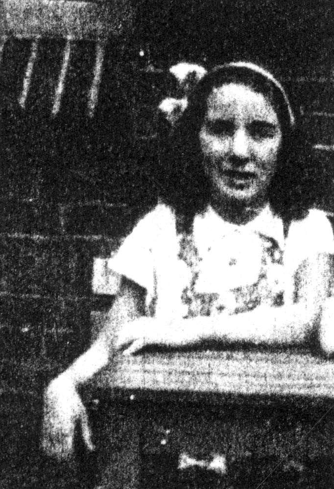 "Betty Bloemendal was a classmate of Anne Frank at the Jewish Lyceum in Amsterdam. Anne described Betty as being ""very clever at school"". Jacqueline van Maarsen described Betty as a ""quiet, sweet girl"". At the time of her arrest she lived at the Reinier Claeszenstraat in Amsterdam. In November of 1942 Betty was murdered in Auschwitz along with her family. She reached the age of 13."