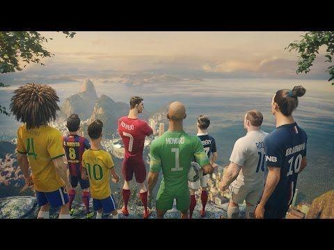World Cup animation: The Last Game ft. Cristiano Ronaldo, Neymar Jr., Rooney, Zlatan, Iniesta  more - YouTube