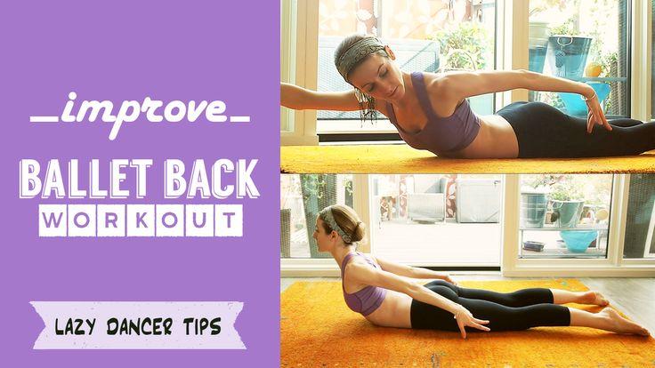Improve your Ballet Back for Arabesque