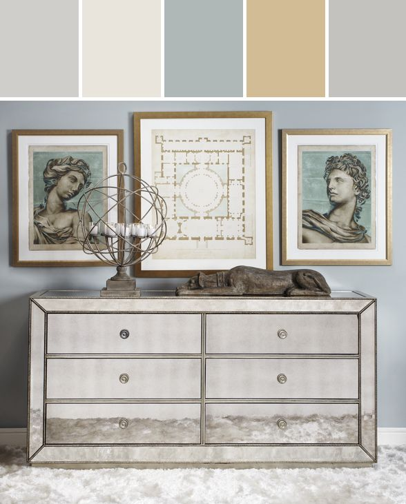 Awesome Omni Mirrored 6 Drawer Chest Designed By Z GALLERIE Via Stylyze