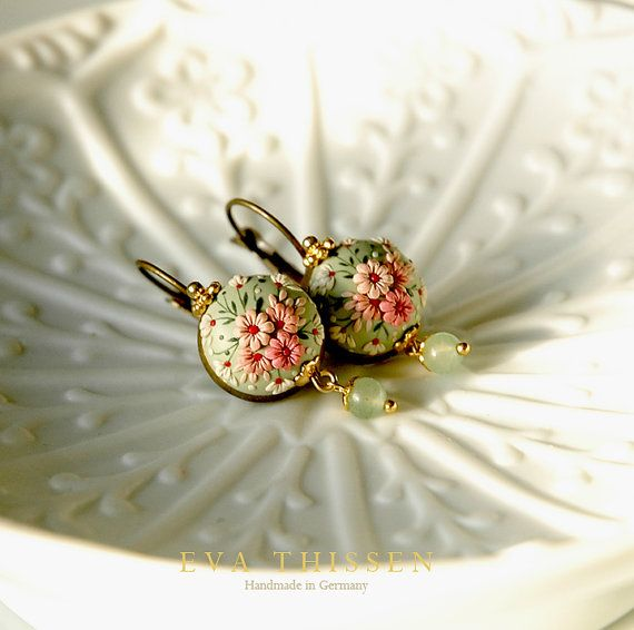 Pretty earrings listing at https://www.etsy.com/listing/175517061/early-spring-made-to-order-chic-and