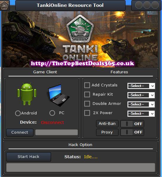 crystal generator for tanki online free download