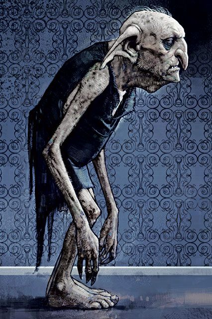Harry Potter Concept Art - The Creature Vault Book