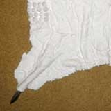 Ceramic  Zulu pregnancy apron isibodiya by Juliet Armstrong http://julietarmstrong.co.za/_gallery.asp