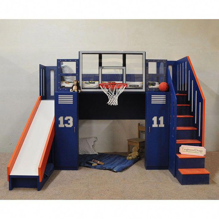 Basketball Bunk The Ultimate In 2019 Bunk Beds