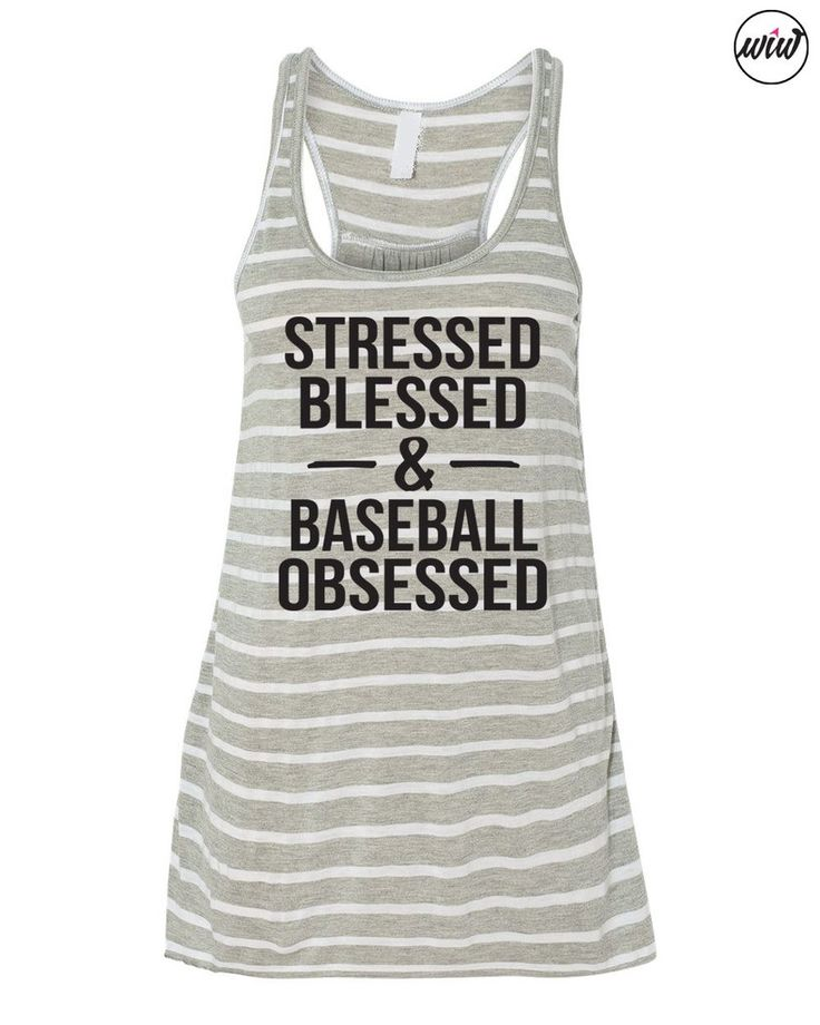 Stressed Blessed and Baseball Obsessed Baseball Tank. Play Ball. Baseball Mom. Softball Mom. Baseball Shirt. Game Day. Mom Life. Baseball Heart. #baseball #baseballmom #softball #softballmom #baseballobsessed #ilovebaseball #cutebaseball #momlife #gameday #workitwear