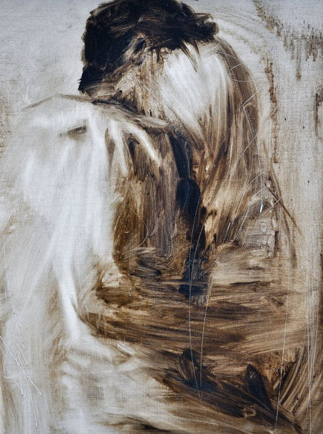 Embrace 2003 29x35 by Henry Asencio
