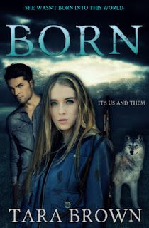 Born (1) - Tara Brown.  Emma lives alone in a hut; one day she hears the chilling knocking at her hut's door; a crack she had feared all these years and now the panic confirmed that the time had come. For a few seconds she tries to make up her mind on what to do, and then takes her gun and decides to pull the door ajar. http://pages-intheattic.blogspot.com.co/2016/07/born-tara-brown.html#more