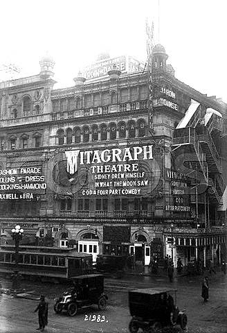New York City, c.1914, The Vitagraph Theater at 44th Street and Broadway