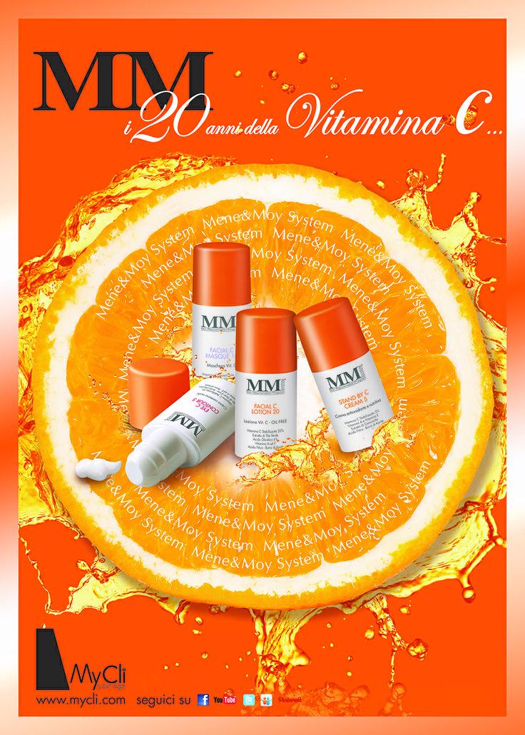 Festeggia i 20 anni della #VitaminaC con #MyCli e scopri le #novità della linea #MeneMoy del Dr. Rômulo Mêne