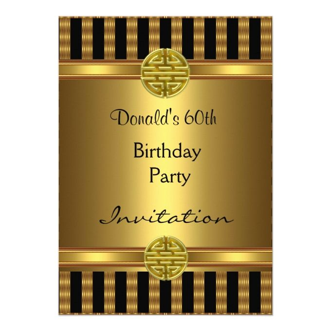 1404 Best Images About 60th Birthday Invitations On Pinterest